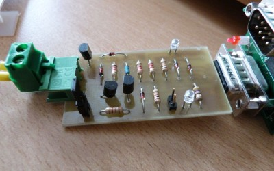 RS232 to TTL multiform MiniMax interface  (serial, TTL, 1-Wire)