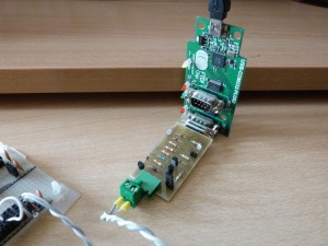 RS232 MiniMax interface tested with eight 1-WIRE DS18B20 sensors on a FTDI USB to Serial interface