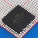 ATMega 1284 TQFP 44 pins