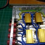 Il mio prototipo di dummy load fatto con pezzi di recupero