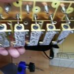Dettaglio (un po' mosso) della pasta termoconduttiva