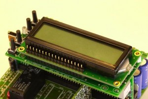 LCD Display with keyboard