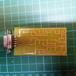 8) Soldering completed. You all can do a better job than mine, don't you?