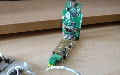 1-WIRE DS18B20 used with RS232 to TTL multiform MiniMax interface (application note 01)