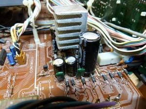 Nuovo dissipatore e nuovi condensatori
